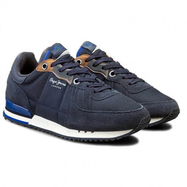 Casual PMS30271 JEANS Sneakers 585 Marine Basic Tinker PEPE pfwq08