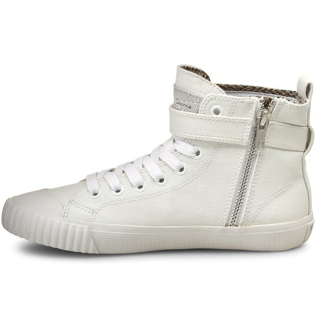 Sneakers PEPE JEANS Industry Macy PLS30357 White 800