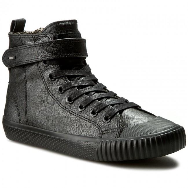 Sneakers PEPE JEANS - Industry Macy PLS30357 Black 999 - Sneakers ... 08e475ecc8