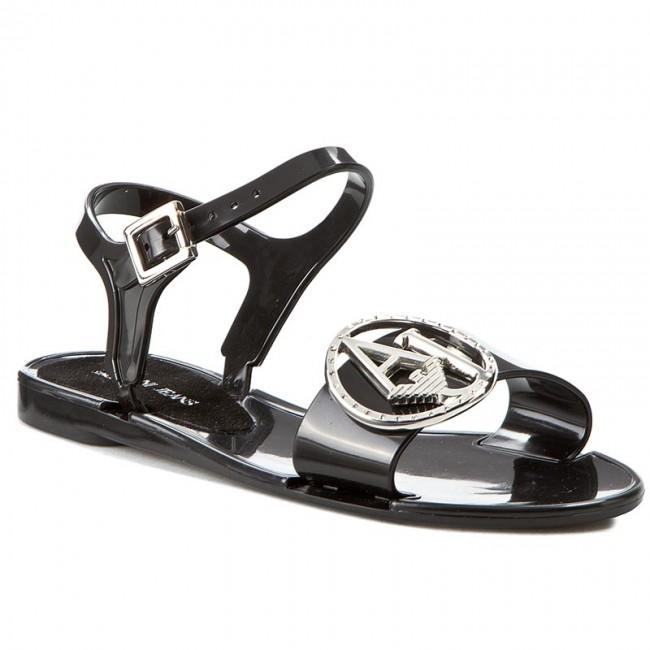 Sandals ARMANI JEANS C55G1 75 12 Black