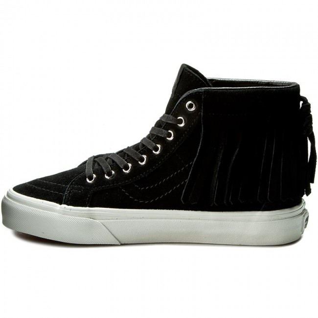 0e0ba8b1399bc0 Sneakers VANS - Sk8-Hi Moc VN000315JTZ (Suede) Black Blanc De Bl - Casual -  Low shoes - Women s shoes - www.efootwear.eu