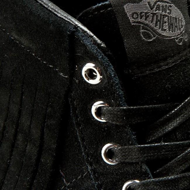 0dff3adcf25644 Sneakers VANS - Sk8-Hi Moc VN000315JTZ (Suede) Black Blanc De Bl ...