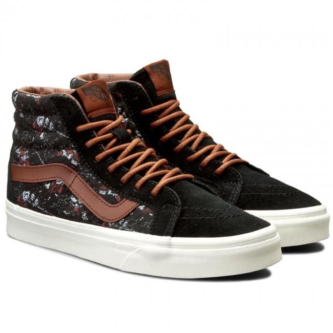 96e33ca663 Sneakers VANS - Sk8-Hi Reissue VN0004OKJRH (Samurai Warrior) Black -  Sneakers - Low shoes - Women s shoes - www.efootwear.eu