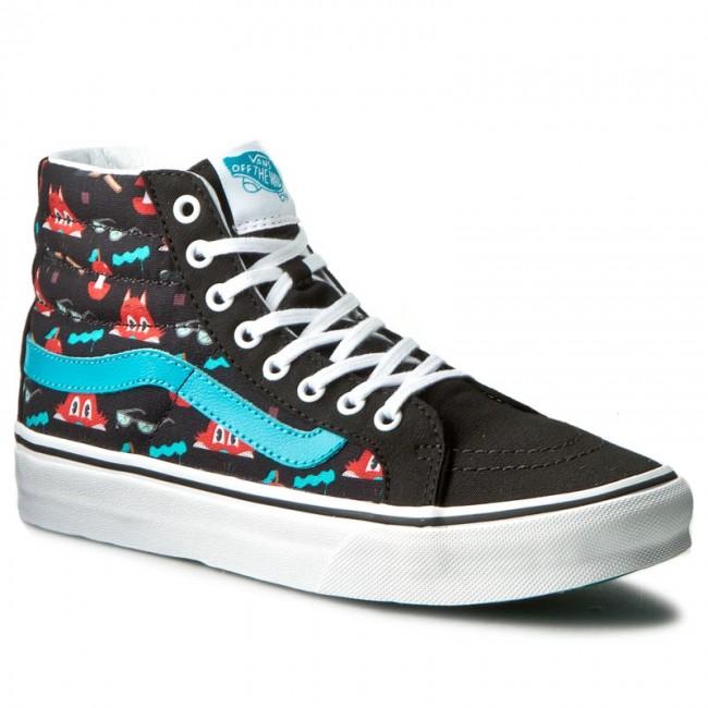 8d270caf89 Sneakers VANS - Sk8-Hi Slim VN00018IJON (Dabs Myla) Multi Black ...