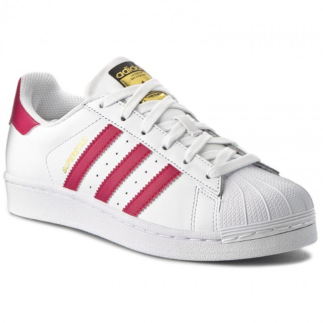 2e1ef6f2752d2 Shoes adidas - Superstar Foundation J B23644 Ftwwht Bopink Ftwwht