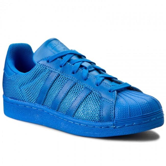 Shoes adidas - Superstar B42619 Blubir/Blubir/Blubir