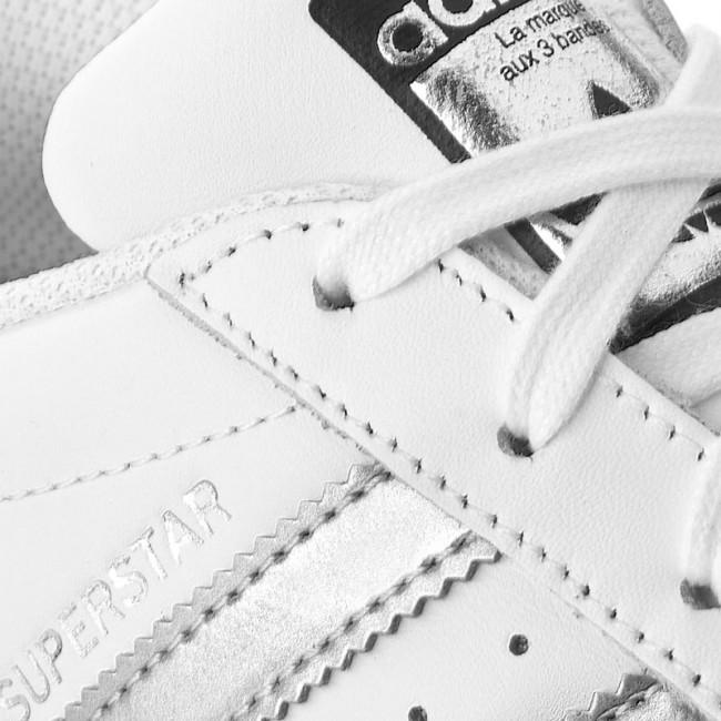 outlet store 28d43 b913c Shoes adidas - Superstar AQ3091 Ftwwht Silvmt Cblack