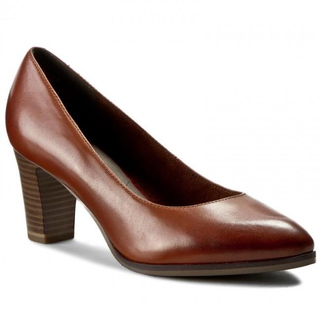 88c01dee37 Shoes TAMARIS - 1-22422-27 Cognac 305 - Heels - Low shoes - Women s ...