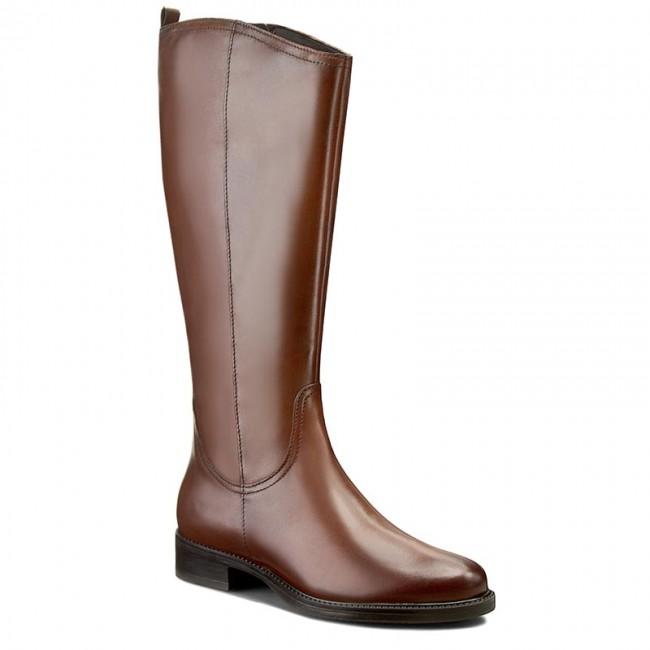 b5d05204e4 Knee High Boots TAMARIS - 1-25554-27 Cognac 305 - Jackboots - High ...