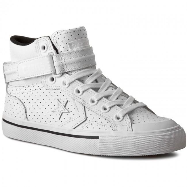 9e2d13ab54a5 Sneakers CONVERSE - Pro Blaze Plus Mid 151331C White White ...