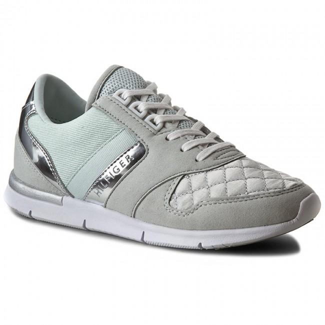 9e8f3d541 Sneakers TOMMY HILFIGER - Skye 1C FW56821406 Sky Grey 900 - Flats ...