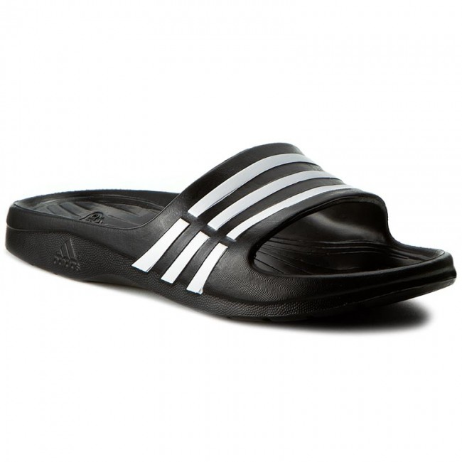 dc9738e6d Slides adidas - Duramo Sleek W G62036 Black1 Wht Black1 - Beach ...