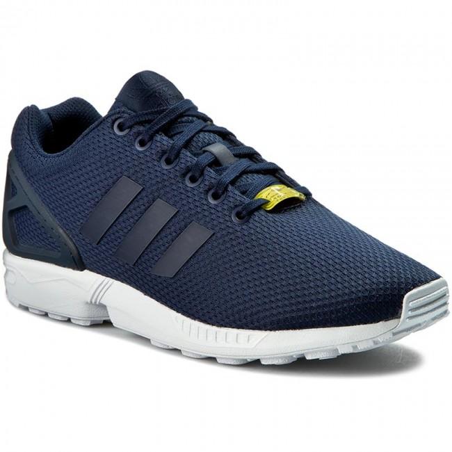 da4a9bfee Shoes adidas - Zx Flux M19841 Darkblue Darkblue Co - Sneakers - Low ...