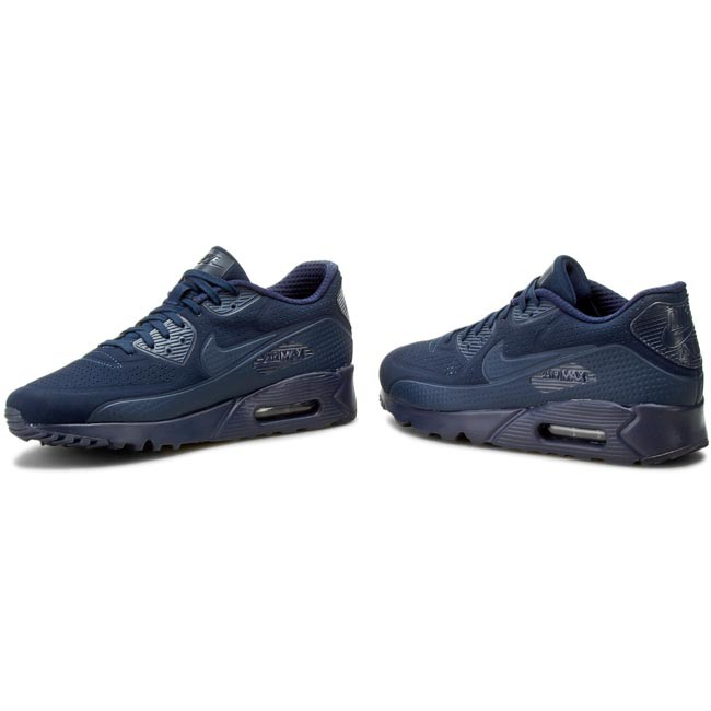 new style 5e398 01e2d Shoes NIKE - Nike Air Max 90 Ultra Moire 819477 400 Midnight Navy Mid Navy