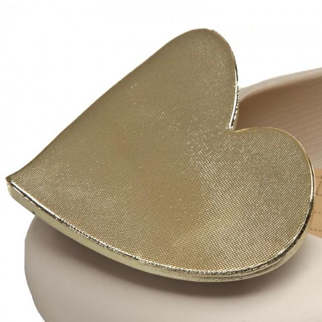 Nuevos Estilos En Línea Barato Ballerine ZAXY - Pop Heart Fem 82002 Beige 50803 V285007 Descuento De La Separación Barato Con Tarjeta De Crédito En Línea pkS0O60waa