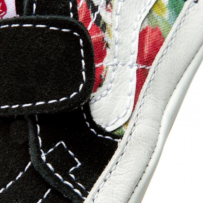 048b2a96e60c8d Shoes VANS - Sk8-Hi Crib VN00018PID6 (Digi Aloha) Black True White ...