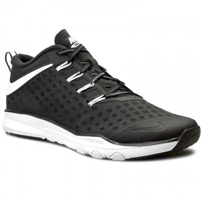 Shoes NIKE - Train Quick 844406 017 Black/White/Volt