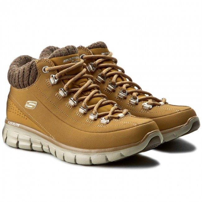 ee750a45c126d Trekker Boots SKECHERS - Winter Nights 12122 WTN Wheat - Trekker boots -  High boots and others - Women s shoes - www.efootwear.eu
