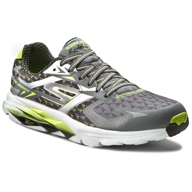 Shoes SKECHERS - Go Run Ride 5 53997 CCLM Charcoal Lime - Fitness ... d0f33c31b