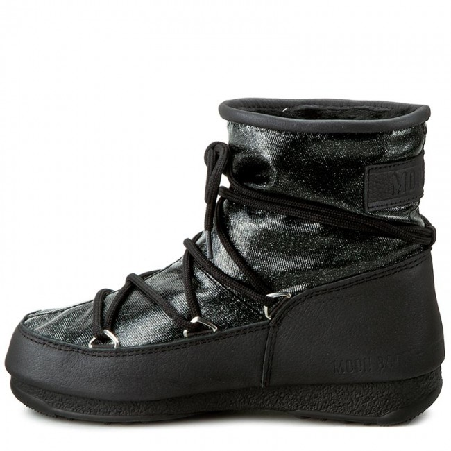 d5958bf161ff Snow Boots MOON BOOT - Low Glitter 24005500002 Nero Black - Winter boots -  High boots and others - Women s shoes - www.efootwear.eu