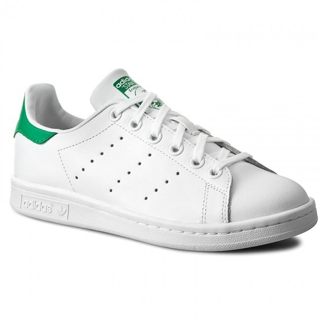 designer fashion 39737 f32ca Shoes adidas - Stan Smith J M20605 Ftwwht Ftwwht Green
