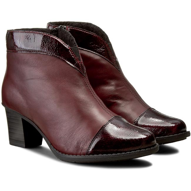 35 RIEKER and boots High Z7664 Boots others Red Boots dE0xqn