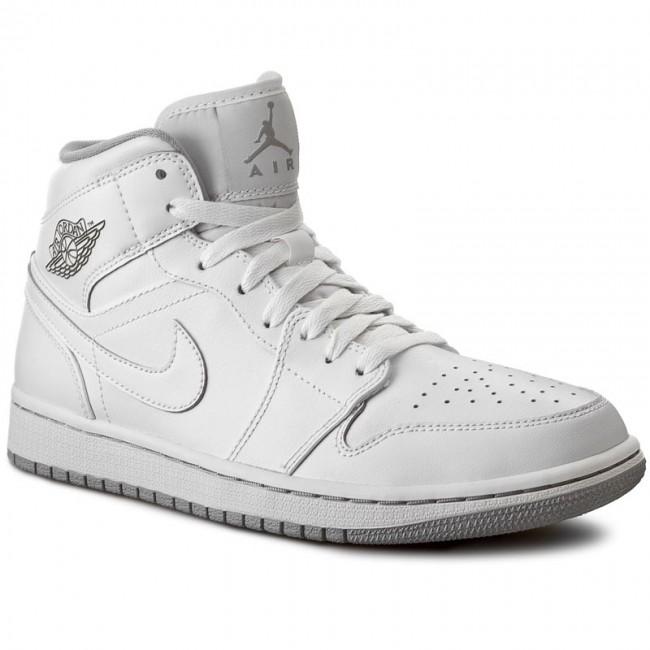 nike free run 2 bleu - Shoes NIKE - Air Jordan 1 Mid 554724 112 White/White/Wolf Grey ...