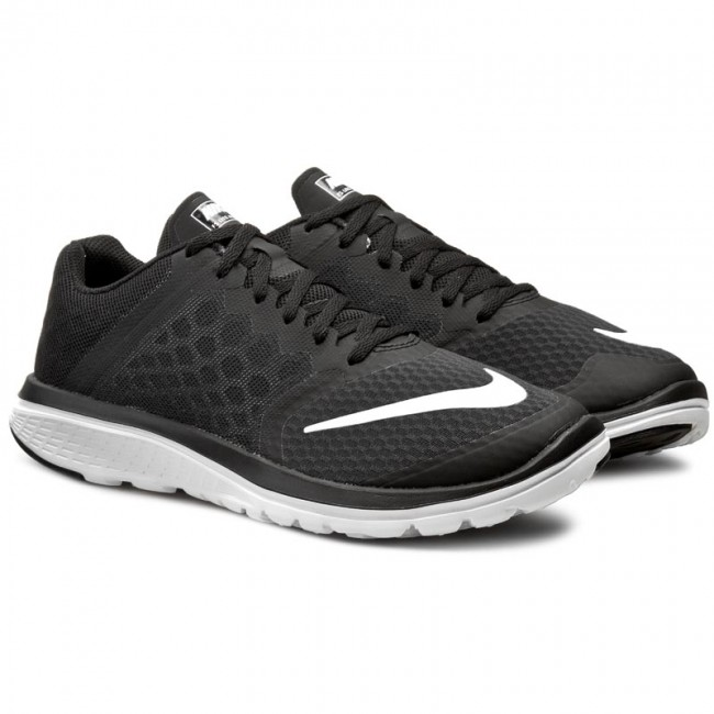 Shoes NIKE - Fs Lite Run 3 807144 001 Black/White