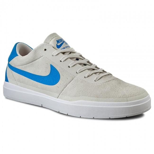 Nike Bruin SB Hyperfeel Mens10 SummitWhite PhotoBlueWhite Suede Casual Sneakers