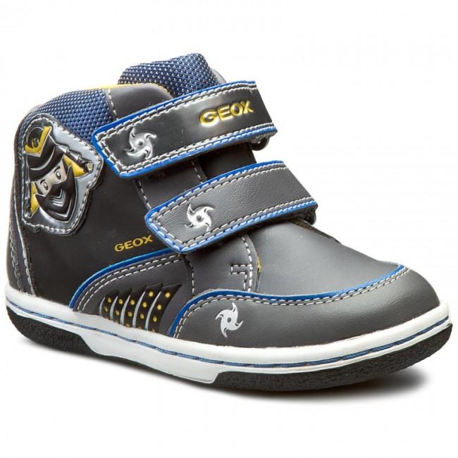 Boots GEOX - B Flick B. D B6437D 05485 C0071 Dk Grey Royal - Boots ... 745417d9881