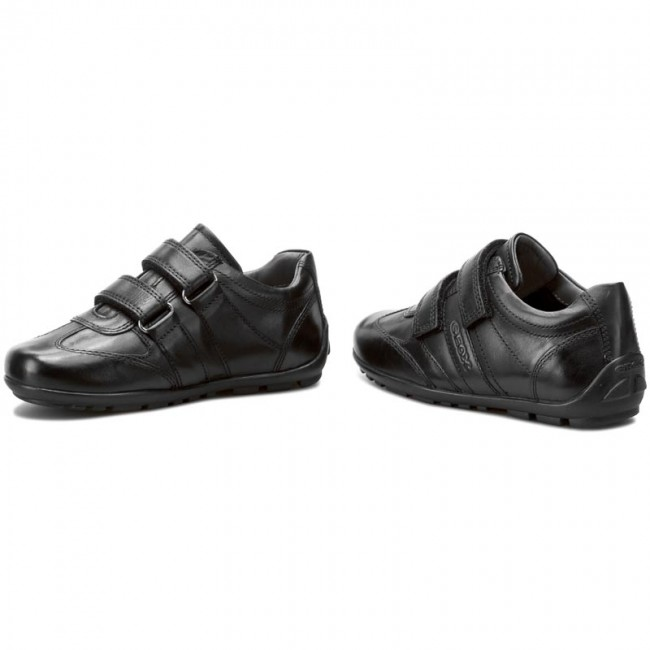 6f23bfe1f18b7 Shoes GEOX - J Fast A J44G5A 00043 C9999 Black - Velcro - Low shoes ...