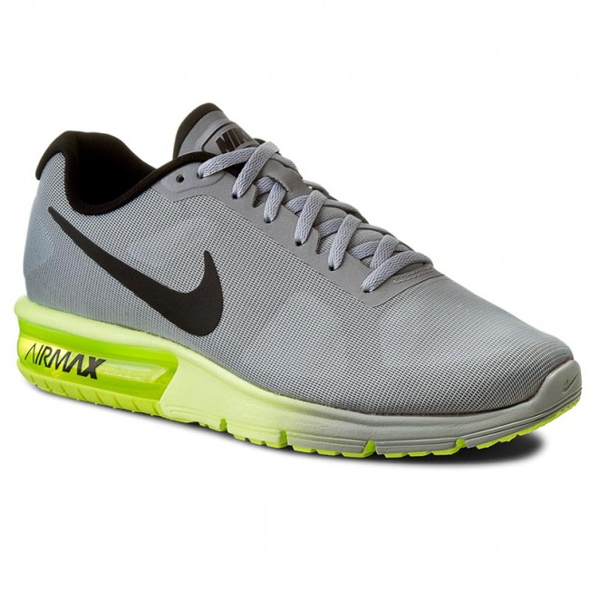 Shoes NIKE - Air Max Sequent 719912 013 Wolf Grey/Black/Volt