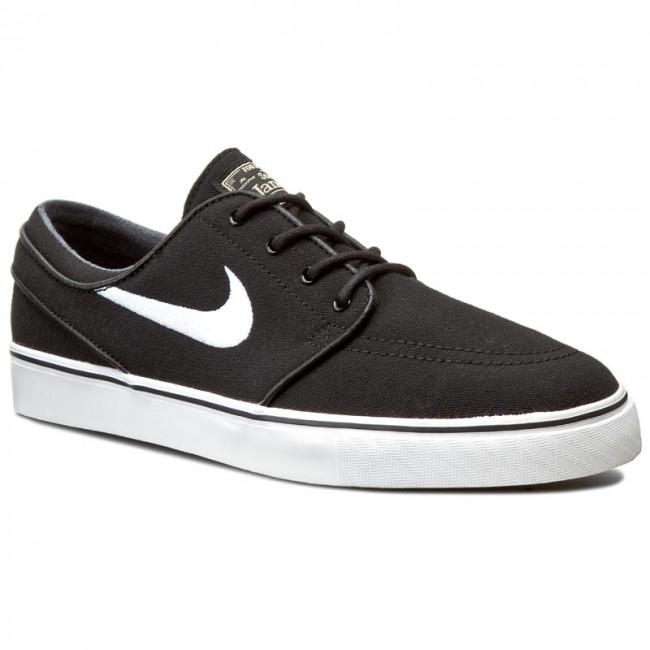 Shoes NIKE. Zoom Stefan Janoski Cnvs 615957 028 Blk/White/Gm Lght Brwn/Mtlc  Gl