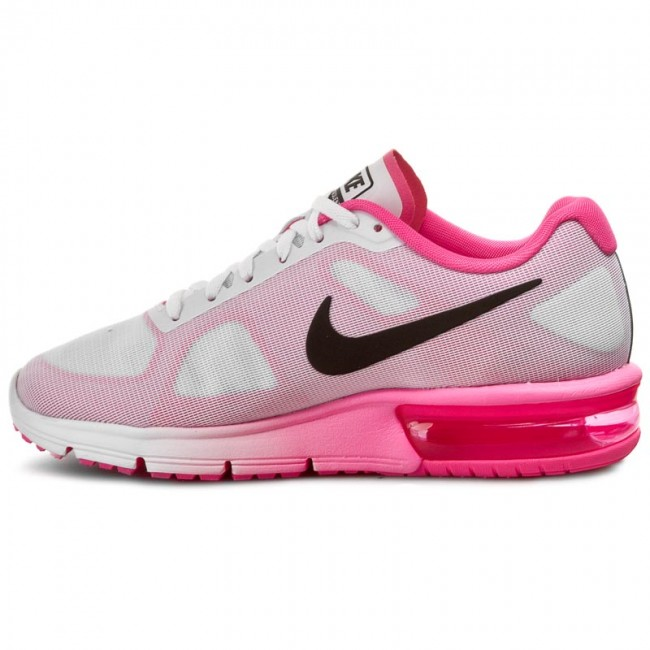 b82e5f951f Shoes NIKE - Air Max Sequent 719916 106 White/Black/Pink Blast - Sneakers -  Low shoes - Women's shoes - www.efootwear.eu