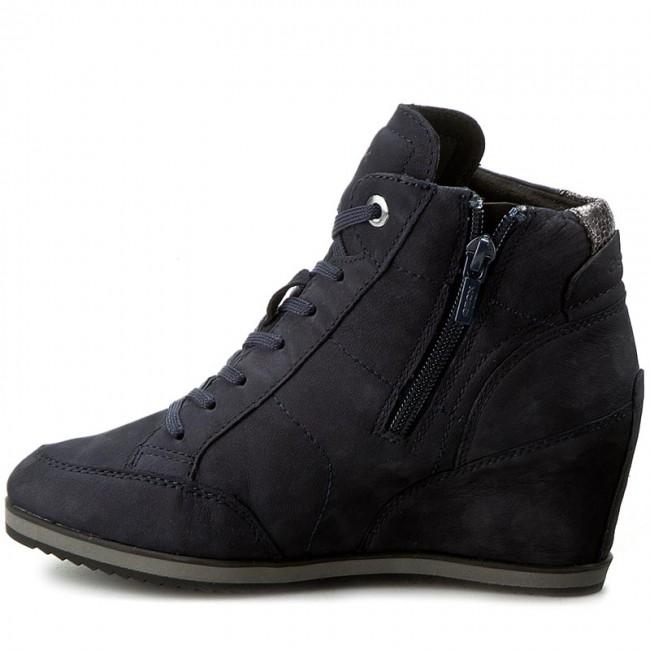 Sneakers GEOX D Illusion A D4454A 000LT C4021 C. Morski