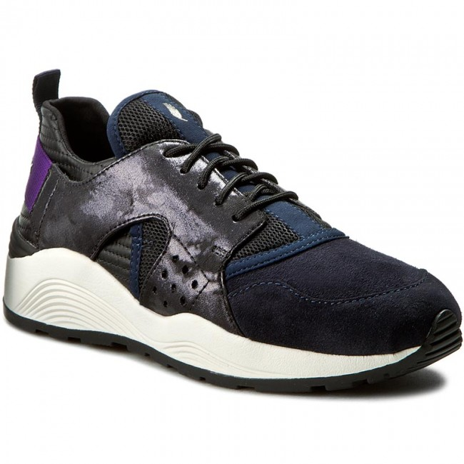 Details about Sneakers GEOX Respira Omaya Plus D642RA NavyBlack Size 10 US