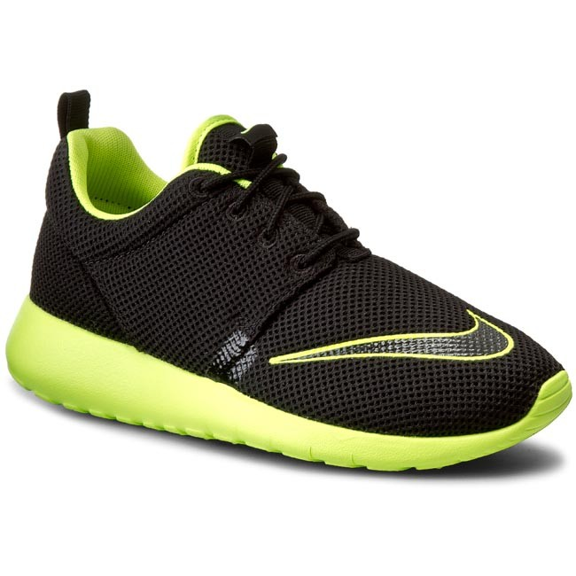 4d0c58f105f3 Shoes NIKE - Roshe One Fb (GS) 810513 003 Black Volt - Laced shoes ...