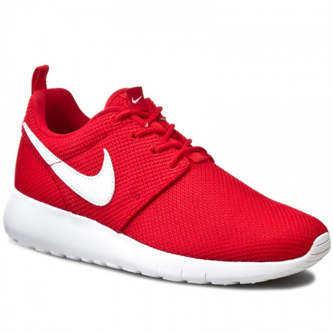 Nike Roshe Un Gs Blanc Rouge