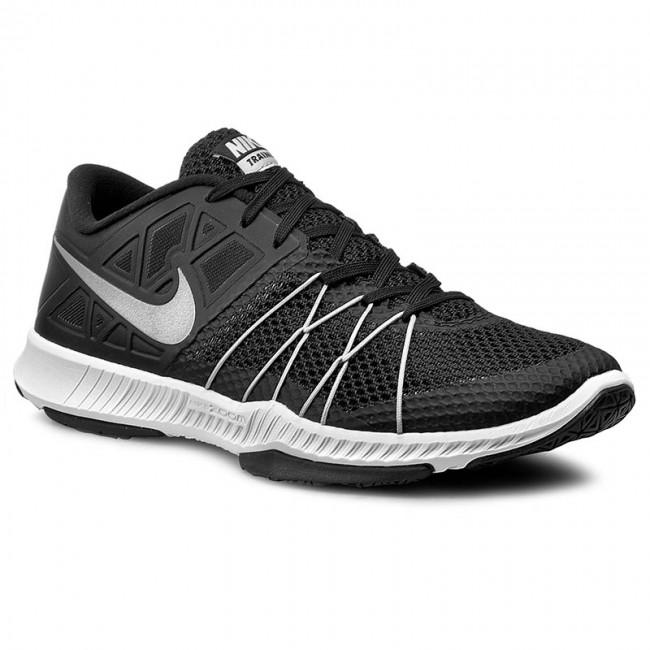 Nike Zoom Train Incredibly Fast Mens Black/Black/Metallic Silver D248306XL Shoes