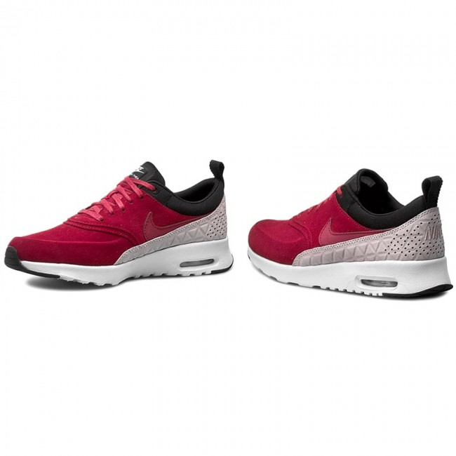 Shoes NIKE - W Nike Air Max Thea Prm Lth 845062 600 Noble Red Noble ... 8a6ae99b2