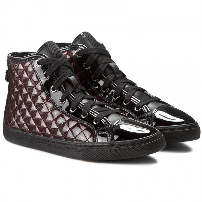 Sneakers N GEOX Women's A shoes 000HI Low efootwear D C0241 Flats D4258A eu shoes CzarnyBordowy Club Sq4rwpxnS
