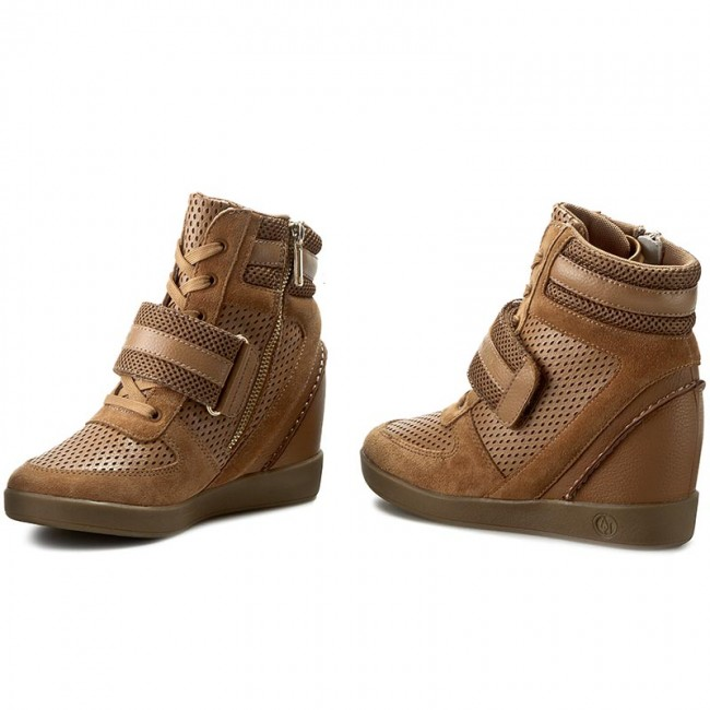 Sneakers ARMANI JEANS - 925081 6A473 11955 Camel Tannin
