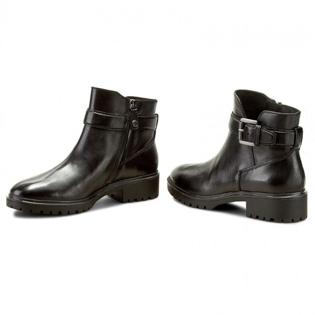 70f972fec12fd Boots GEOX - D Peaceful B D640GB 00043 C9999 Black - Boots - High ...