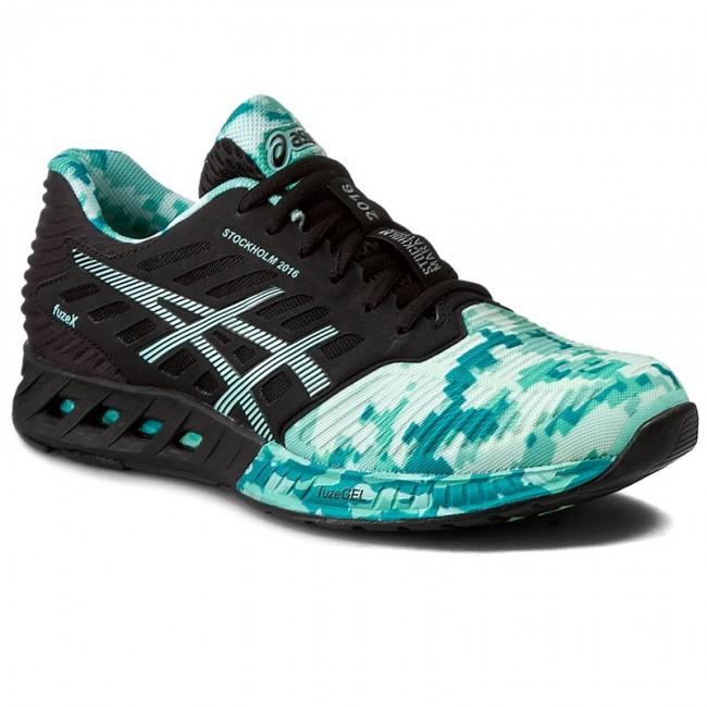 Shoes ASICS - FuzeX T66VQ Black