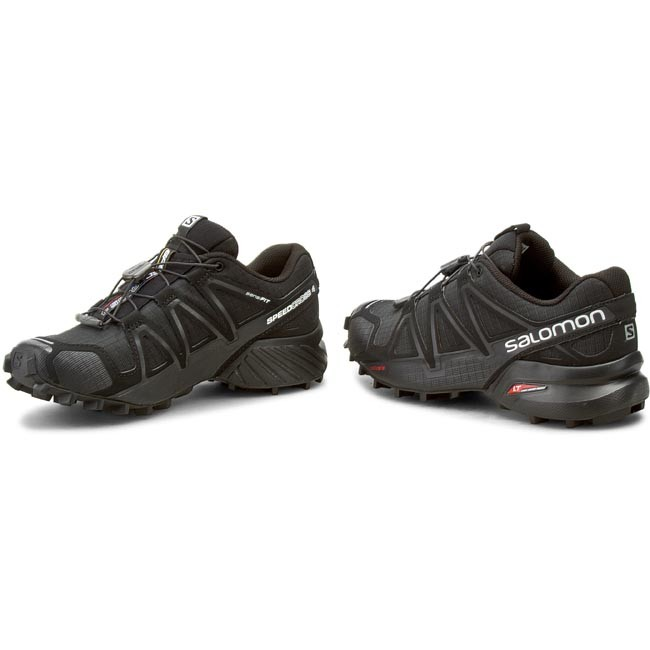 Shoes SALOMON - Speedcross 4 W 383097 20 V0 Black/Black/Black Metallic