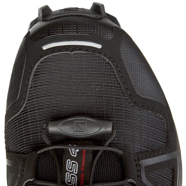 Shoes SALOMON Speedcross 4 W 383097 20 V0 BlackBlackBlack Metallic