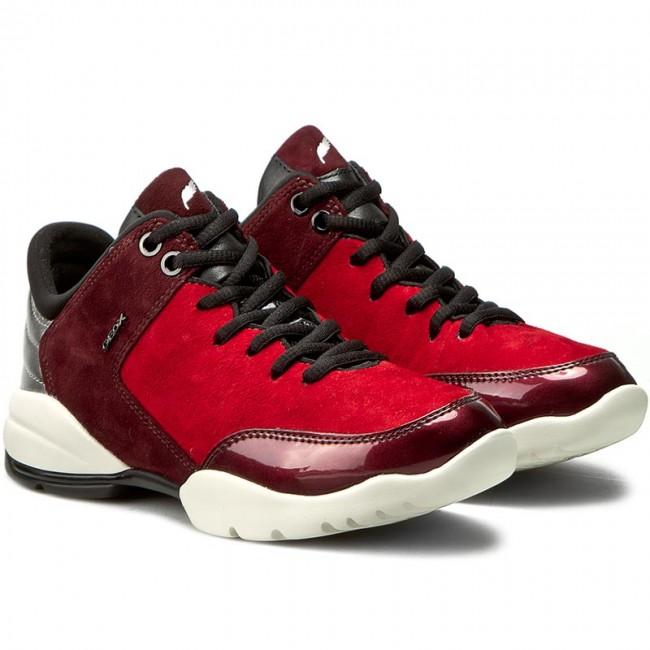 bd24650e8bb Shoes GEOX - D Sfinge A D642NA 00021 C7M7J Dk Red/Dk Burgundy - Flats - Low  shoes - Women's shoes - www.efootwear.eu