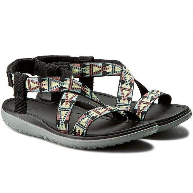7b5a5e016985 Sandals TEVA - W Terra Float Livia 1009807 Mosaic Black Multi ...