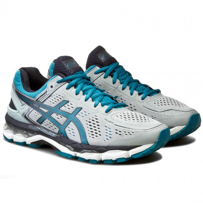 391313786689 Shoes ASICS - Gel-Kayano 22 T547N Silver Grey Ocean Depth Sky Captain 9661  - Indoor - Running shoes - Sports shoes - Men s shoes - www.efootwear.eu