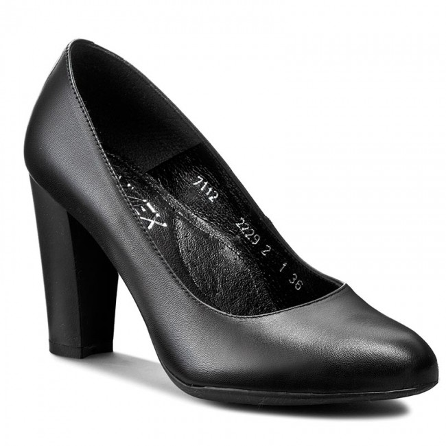 Low 7112 Shoes 01S Black MEX ANN Heels Women's shoes shoes AwFwq7